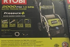 Renting Out: 2,000 PSI 1.2-GPM Electric Pressure Washer